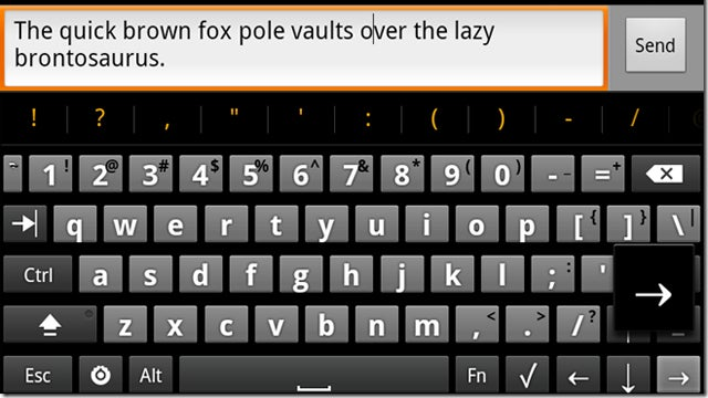 The Hacker's Keyboard Gives Android Devices Real Keyboard Functionality