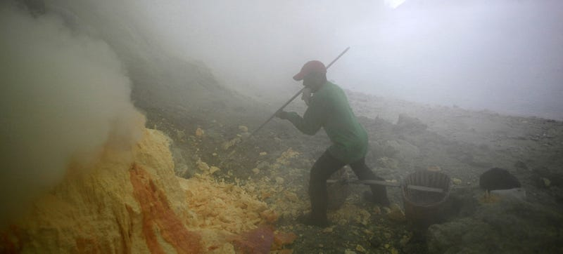 Inside the Toxic Sulfur Quarries That Keep Your Tires Rolling
