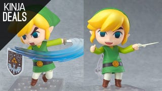 Hi-Yah! You Know You Want this Wind Waker Link Action Figure