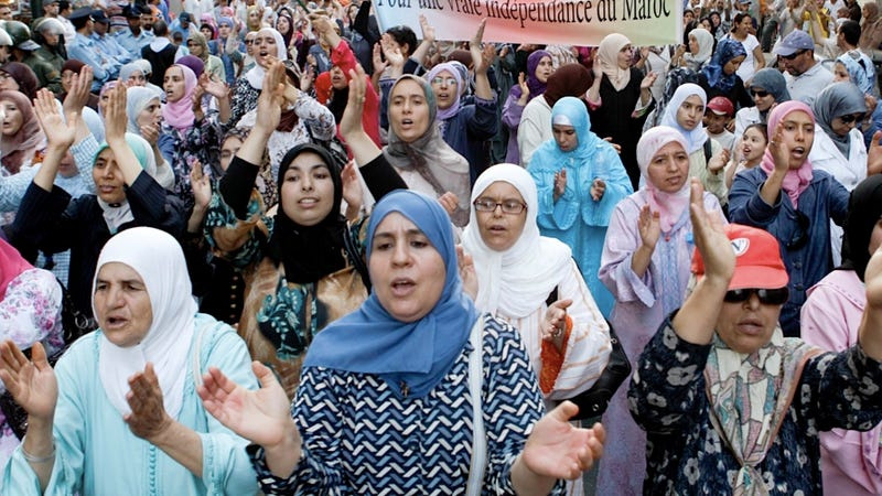 Moroccan Women Rally Against Horrible Rape-Marry Law