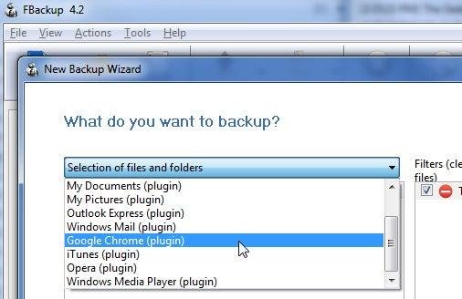 FBackup Makes Backing Up Application Data Simpler