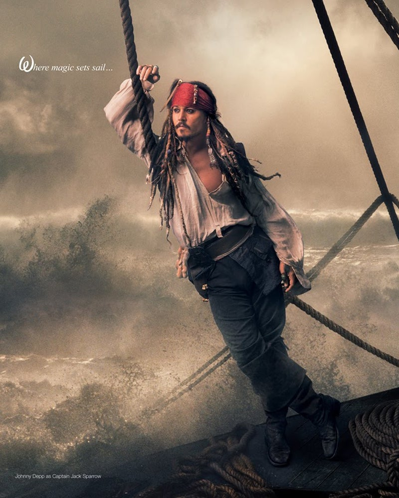 Pirates of the Caribbean On Stranger Tides leibovitz photos