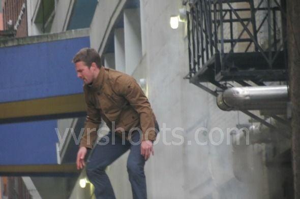 Arrow Behind the Scenes Photos
