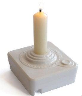 Atari Joystick Candle Holder