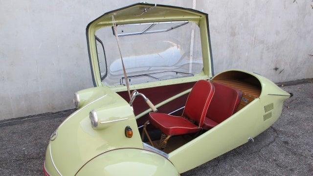 Your opportunity for weird three wheeled fun with the Messerschmitt KR175