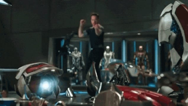 the real life tony starks behind iron man 3 39 s amazing armor. Black Bedroom Furniture Sets. Home Design Ideas