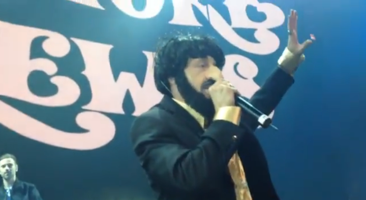 Macklemore Dresses Up As Offensive Jewish Caricature At Secret Show