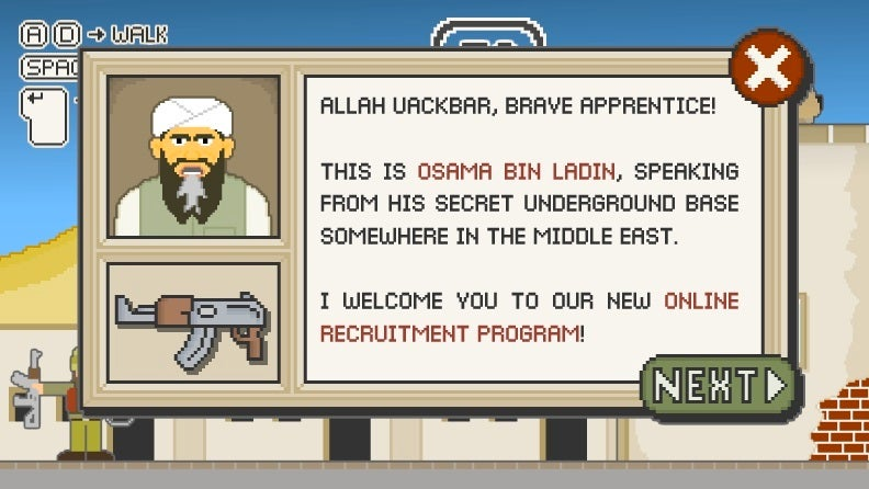 New Osama Bin Laden Game Tops The Charts
