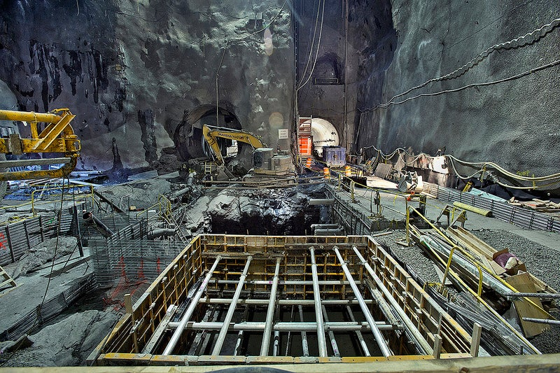 The Colossal Railway That's Quietly Taking Shape 160 Feet Below NYC