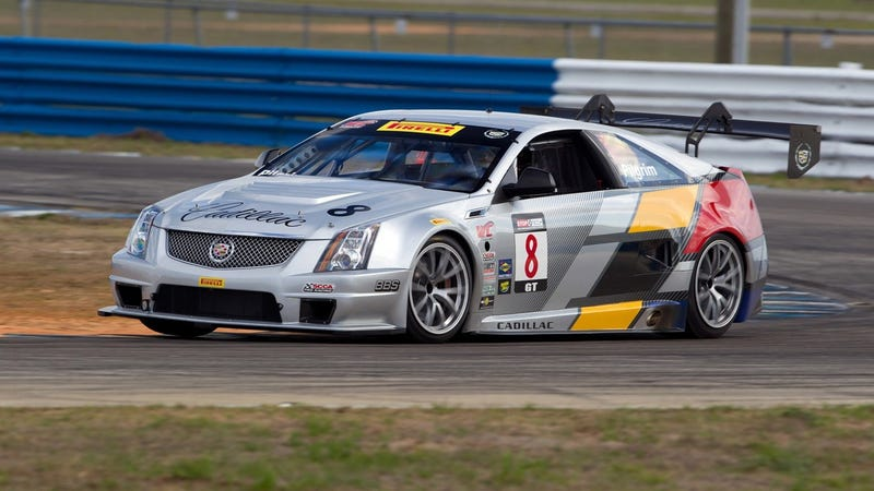 Cadillac CTS-V Coupe Racer hits Sebring for more hot testing