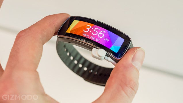 Samsung's Gear Fit Is Coming in April for $200