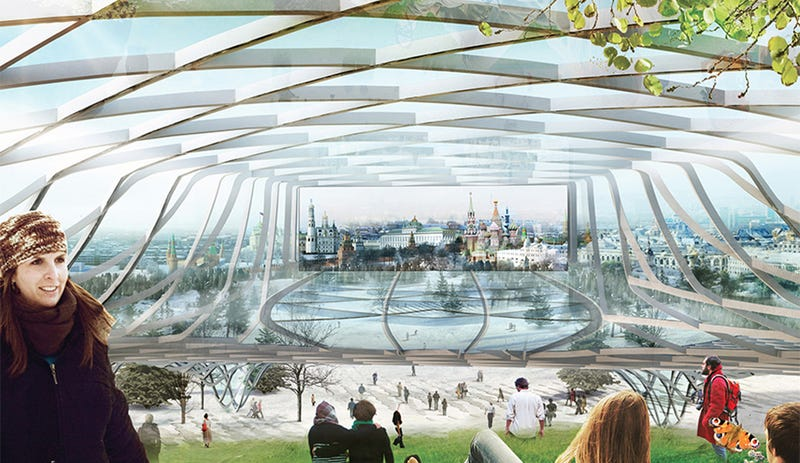 Moscow Is Building Its First New Park In 50 Years