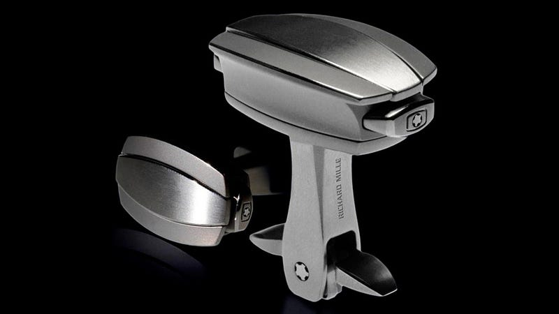 Over-Engineered Cufflinks Save Precious Seconds Before Your Fancy Dress Party