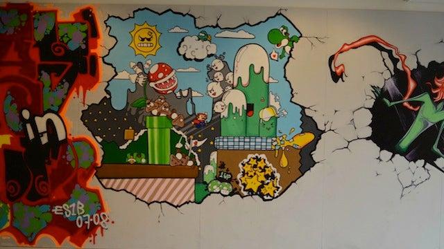 I Wish My Schools Had Walls Like These