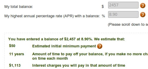 Calculate Exactly How Long You'll Be in Debt