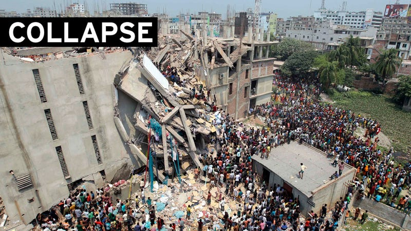 Over 70 Killed in Garment Factory Collapse