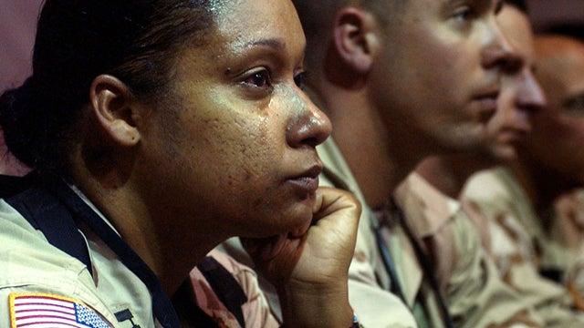 Female Soldiers Challenge Gender Restrictions In Combat