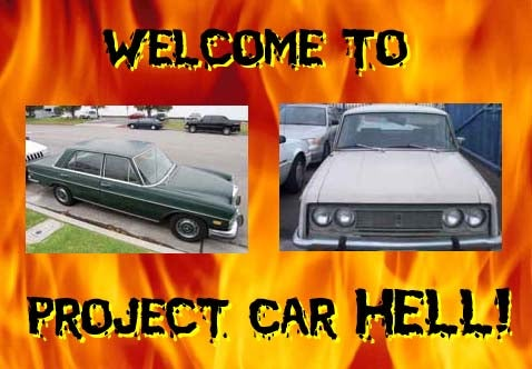 Project Car Hell: '72 450SEL or '69 Corona?