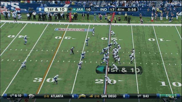 Jacksonville Beat The Colts In The Final Minute, In Two GIFs