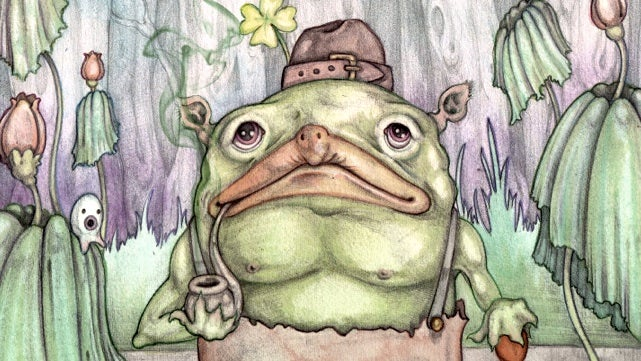Meet the kappa leprechaun, a tiny monster at the nexus of Japanese and Irish folklore