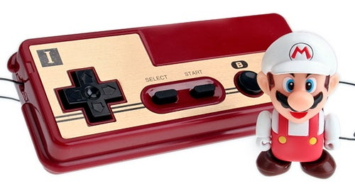 Super Mario Robot: Remote Controlled by Japanese NES Joypad