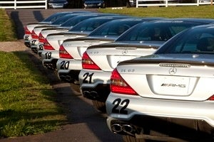 Your Whip Awaits at the AMG Driving Academy