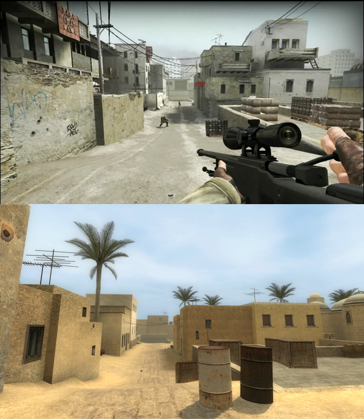 See How Much Counter-Strike's Maps Have Changed