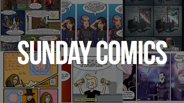 Sunday Comics: Get Well Soon