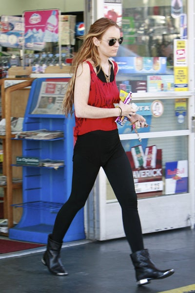 Flaming Hot Actress Stocks Up On The Sugary Essentials