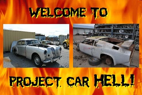 Project Car Hell, End Of The World Edition: Fairlaneborghini or 1956 Lagonda 3 Litre Saloon?