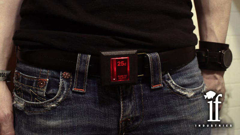 An Arcade Coin Slot Belt Would Be Creepy If It Weren't So Awesome