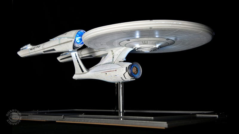 Try Not to Drool Over This Exquisite $7,000 Replica of the USS Enterprise