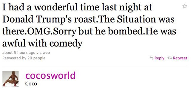 The Situation Bombed At Donald Trump's Roast