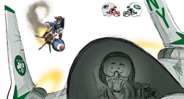 Pixar animator recaps the NFL season as epic comic battles