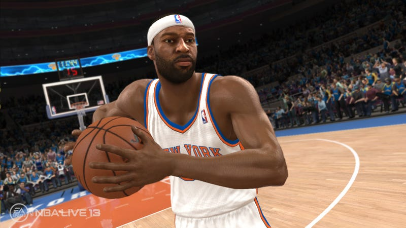 NBA Live 13 Bounces Back With Its First Five Screenshots
