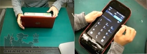Guy Turns Dell Netbook Into 10-Inch Android Mini 3i Phone