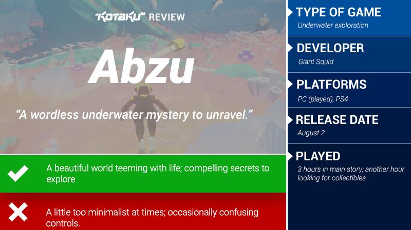 Abzu: The Kotaku Review