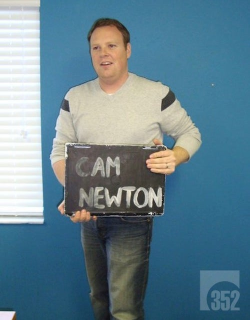 Everybody's Taking Photos With Cam Newton's Stolen Computer