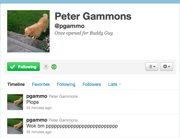 Peter Gammons Either Going Insane Or Had His Twitter Hacked