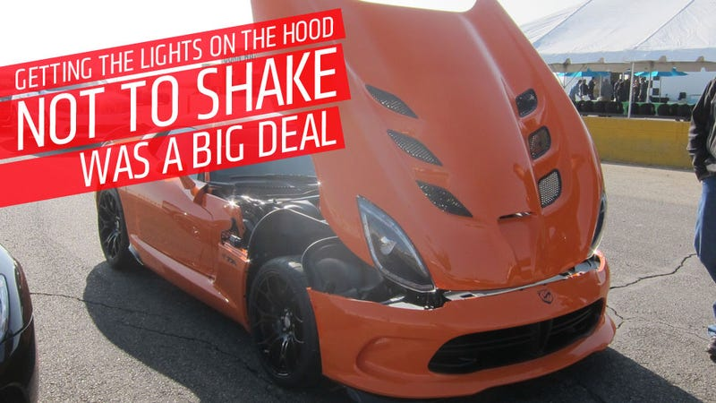 The SRT Viper TA Is Absolutely Bonkers To Drive On A Track