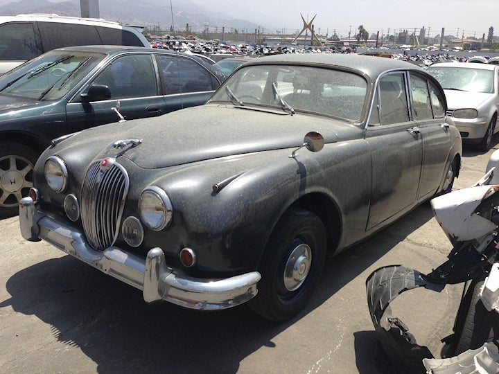Would You Buy a Jag From A Junkyard?