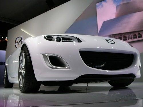 Mazda MX-5 Superlight Concept: Live Photos