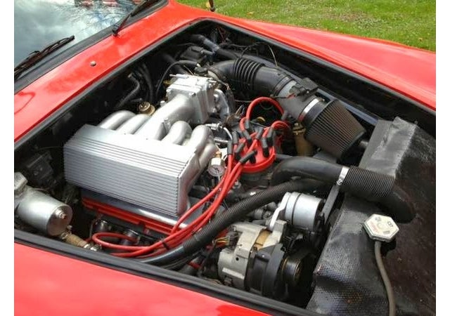 This V8 Powered Ghia Looks Like A 911 Turbo Stung By Bees