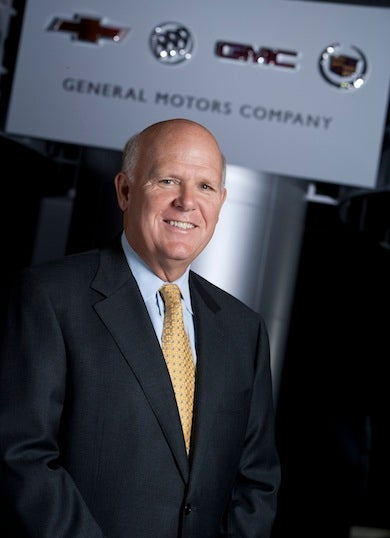 Happy First Day As GM CEO, Dan Akerson!