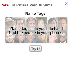 Picasa Updates, Adds Face Recognition
