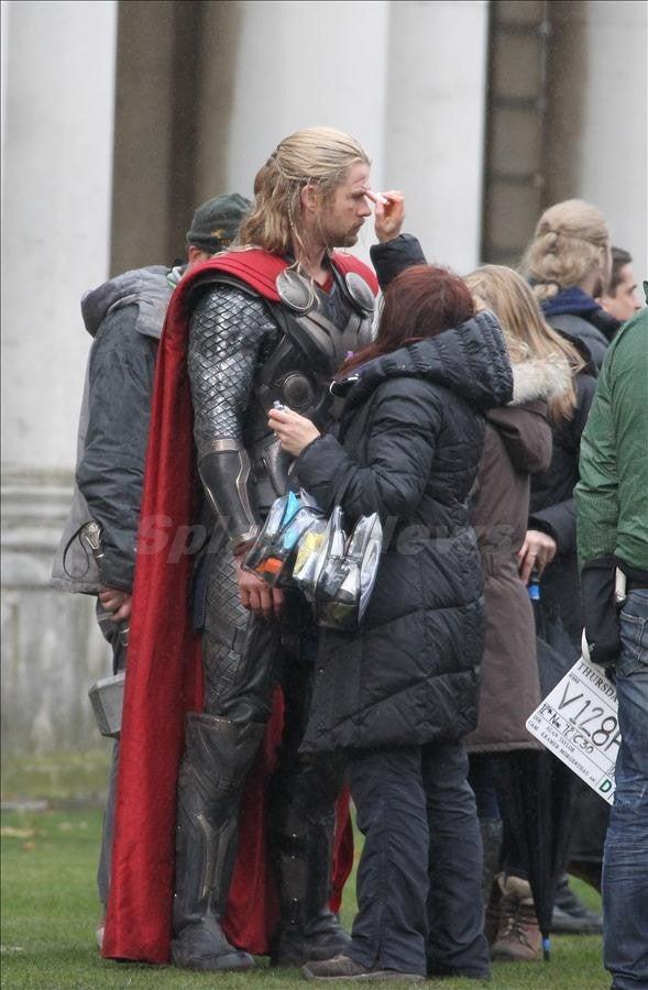 Thor: The Dark World - Set Photos