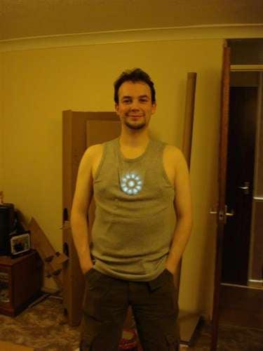 DIY Iron Man Arc Reactor Doesn't Run on Martinis