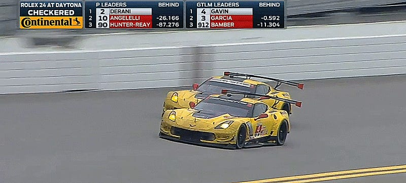 The Rolex 24 At Daytona's Last Laps Were The Most Intense Racing Of The Decade