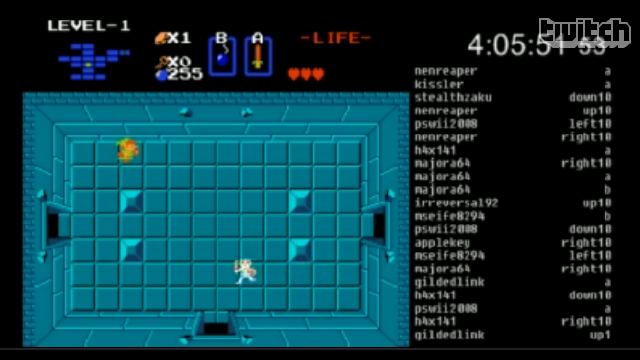 'Twitch Plays The Legend of Zelda' Is a Study in Frustration