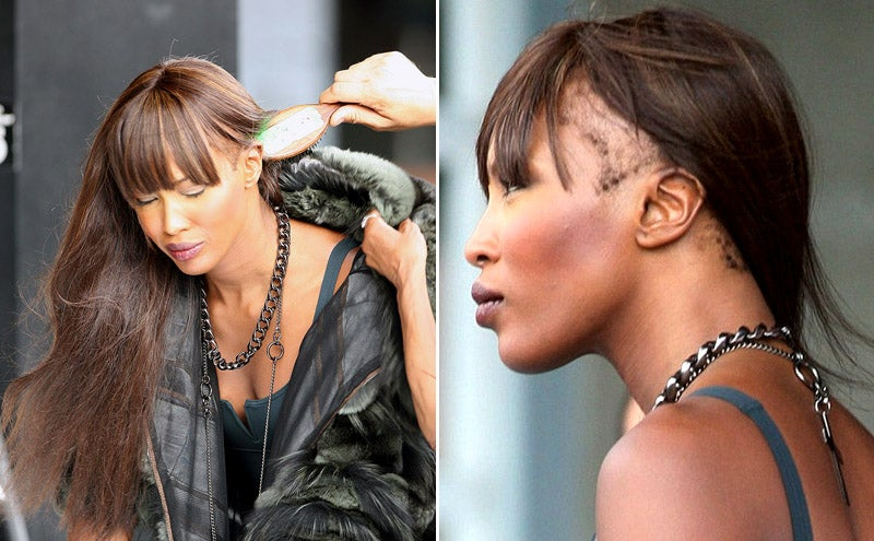Naomi Campbell Is Secretly Bald